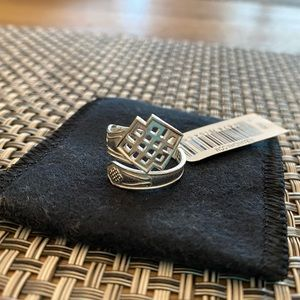 Alex and Ani Sterling Silver Spoon Ring